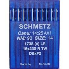Иглы промышленные Schmetz  DBx1 LR 10 шт для кожи