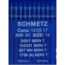 Иглы промышленные Schmetz  DBx1 10 шт