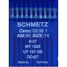 Иглы промышленные оверлочные Schmetz DCx27 10 шт