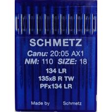 Иглы промышленные Schmetz  DPx5 LR 10 шт для кожи