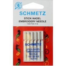Иглы для вышивки Schmetz 130/705H-E 5 шт