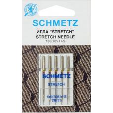 Иглы стрейч Schmetz 130/705H-S 5 шт