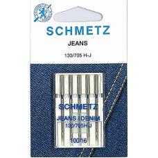 Иглы для джинсы Schmetz 130/705H-J 5 шт