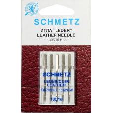 Иглы для кожи Schmetz 130/705H-LL 5 шт